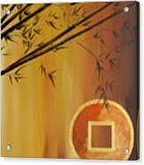 Good Fortune Bamboo 2 Acrylic Print