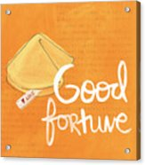 Good Fortune Acrylic Print