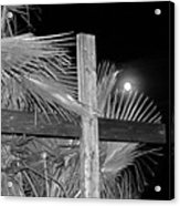 Good  Friday  In  Black  And  White Acrylic Print
