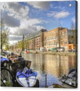 Good Morning Amsterdam Acrylic Print