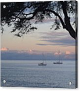 Good Morning Boats Acrylic Print