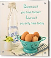 Good Morning Acrylic Print