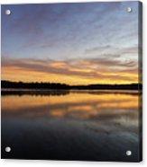 Good Morning Lake Springfield Acrylic Print