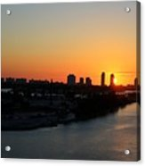 Good Morning Miami Acrylic Print