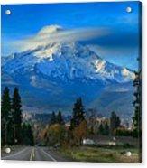 Good Morning Mount Hood Acrylic Print