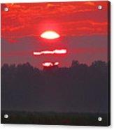 Dawn At Old River Acrylic Print