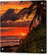 Good Night Hawaii Acrylic Print