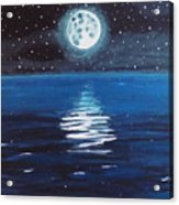 Good Night Moon 1 Acrylic Print