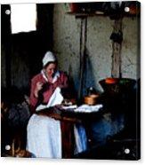 Good Pilgrim Wife Acrylic Print