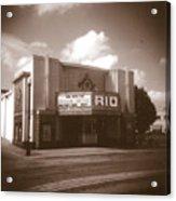 Good Time Theater Acrylic Print