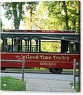 Good Time Trolley Acrylic Print