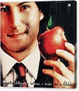 Goodbye Steve Jobs Acrylic Print