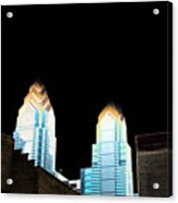 Goodnight Philly Acrylic Print