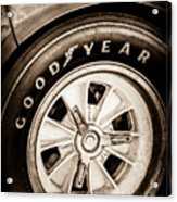 Goodyear Tire -0250s Acrylic Print
