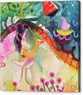 Goose At The Lake Acrylic Print