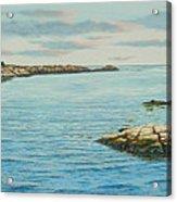 Goose Neck Cove Acrylic Print
