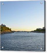 Goose Neck Cove - Newport Rhode Island Acrylic Print