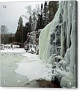 Gooseberry Frozen Falls Acrylic Print