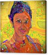 Gopika Acrylic Print