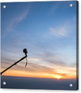 Gopro Action Sport Camera On A Boom Acrylic Print