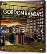 Gordon Ramsay Acrylic Print