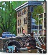 Gore Street Bridge Acrylic Print