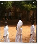 Goree Karate  Acrylic Print by Fania Simon