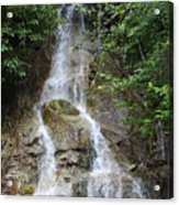 Gorge Creek Falls - North Cascades National Park Wa Acrylic Print by Christine Till