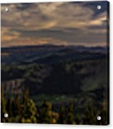 Gorge Sunset Acrylic Print