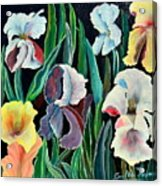 Gorgeos Iris Acrylic Print