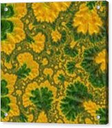 Gorgeous Fabric Design - Series Number Ten Acrylic Print