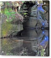 Gorgeous Reflections Vertical Acrylic Print