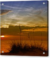 Gorgeous Sunset Acrylic Print by Melanie Viola