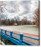 Gorky Park In Winter Acrylic Print