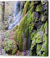 Gorman Falls At Colorado State Park II - San Saba Texas Hill Country Acrylic Print