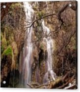 Gorman Falls Acrylic Print
