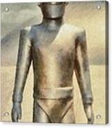 Gort From The Day The Earth Stood Still Acrylic Print