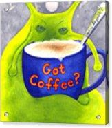 Got Coffee Acrylic Print