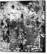 Gotham Castles Acrylic Print
