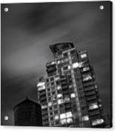 Gotham Rooftop Acrylic Print