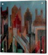 Gothem City Acrylic Print