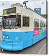 Gothenburg City Tram Acrylic Print