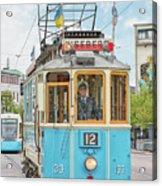 Gothenburg Liseberg Tram Acrylic Print