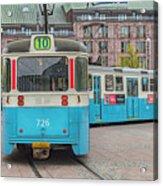 Gothenburg Public Tram Acrylic Print