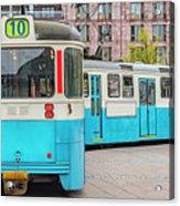 Gothenburg Public Tramcar Acrylic Print