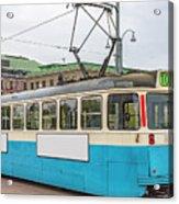 Gothenburg Tram Car Acrylic Print