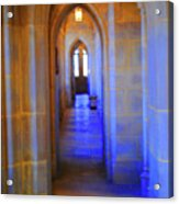 Gothic Arch Hall Acrylic Print