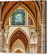 Gothic Arches - Holy Name Cathedral - Chicago Acrylic Print