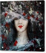 Gothic Beauty Acrylic Print