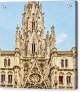 Gothic Cathedral In Havana Acrylic Print